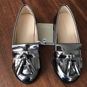 Zara Tassel Loafer Shoes Toddler Girls US 9.5 NEW